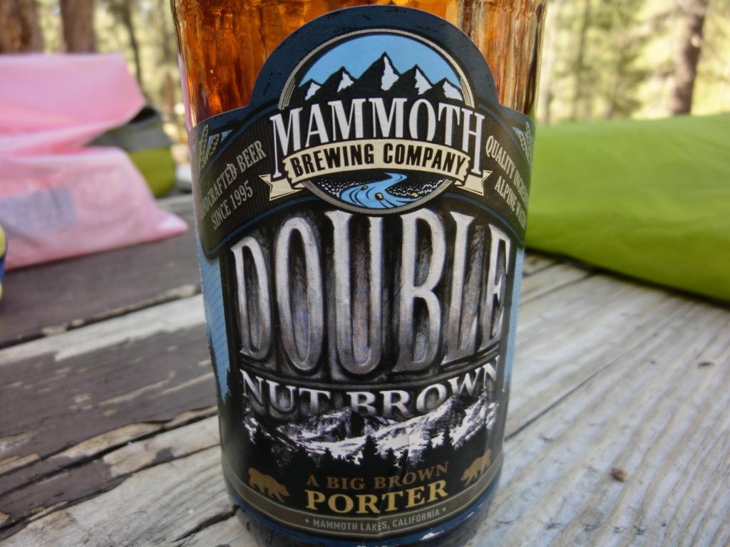 マンモス印のビール