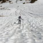 ジョンミューアトレイル 雪のシルバーパス越え