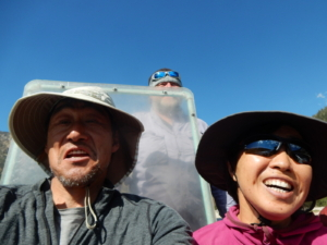 トーマスエジソンレークのフェリーボート